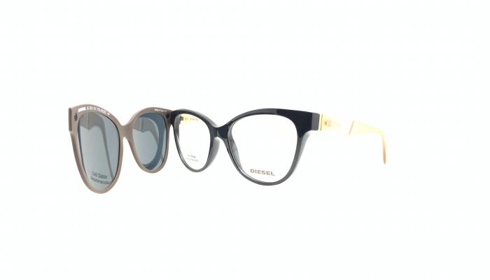 Rama ochelari clip-on Diesel DL5332