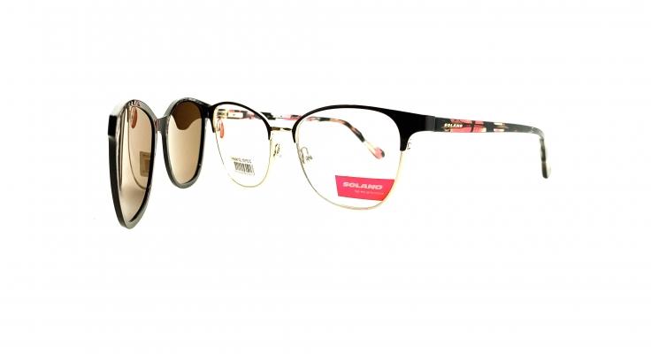 Rama ochelari clip-on Solano CL10115C