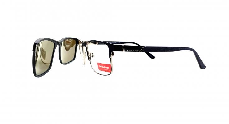 Rama ochelari clip-on Solano CL10121