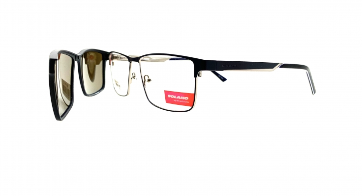 Rama ochelari clip-on Solano CL10122B