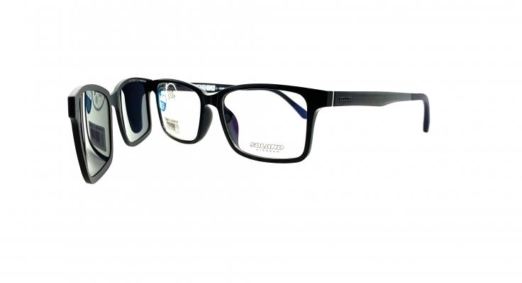 Rama ochelari clip-on Solano CL90045B