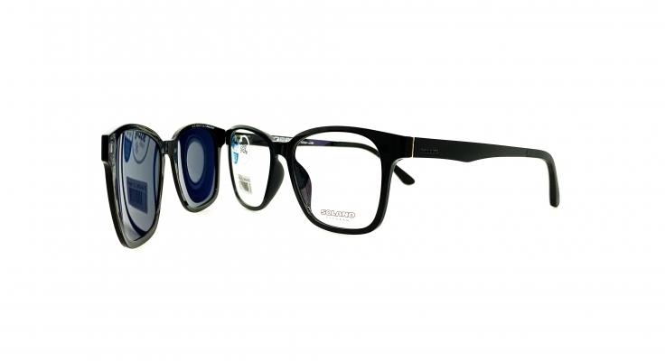 Rama ochelari clip-on Solano CL90046B