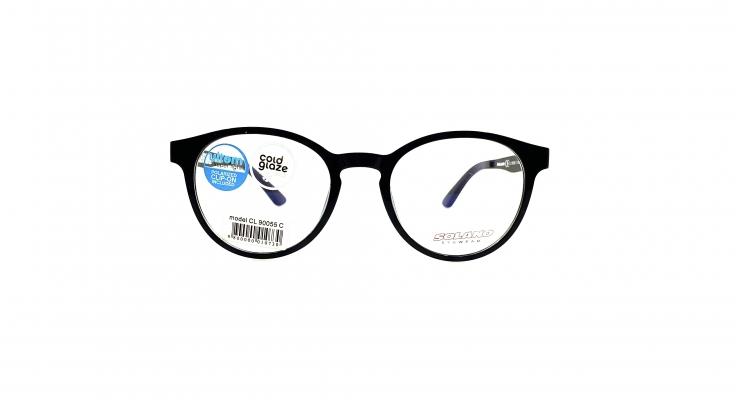 Rama ochelari clip-on Solano CL90055C