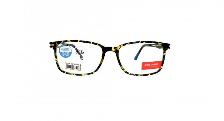 Rama ochelari clip-on Solano CL90073C