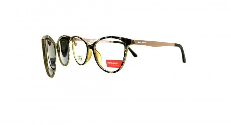 Rama ochelari clip-on Solano CL90076