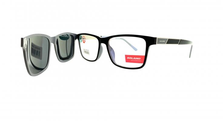 Rama ochelari clip-on Solano CL90104