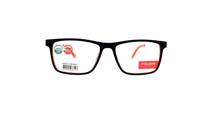 Rama ochelari clip-on Solano CL90106C