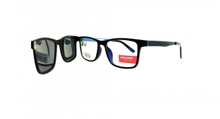 Rama ochelari clip-on Solano CL90112E