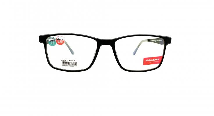 Rama ochelari clip-on Solano CL90114B