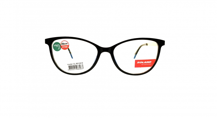 Rama ochelari clip-on Solano CL90120