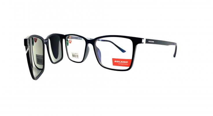 Rama ochelari clip-on Solano CL90121