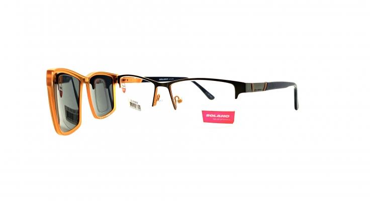Rama ochelari clip-on Solano CL10125D