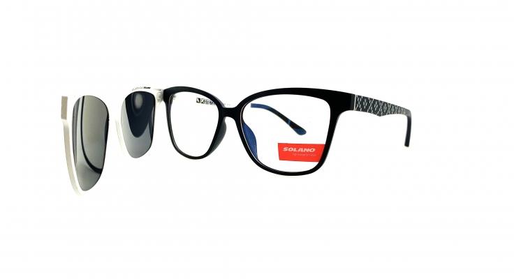 Rama ochelari clip-on Solano CL90078