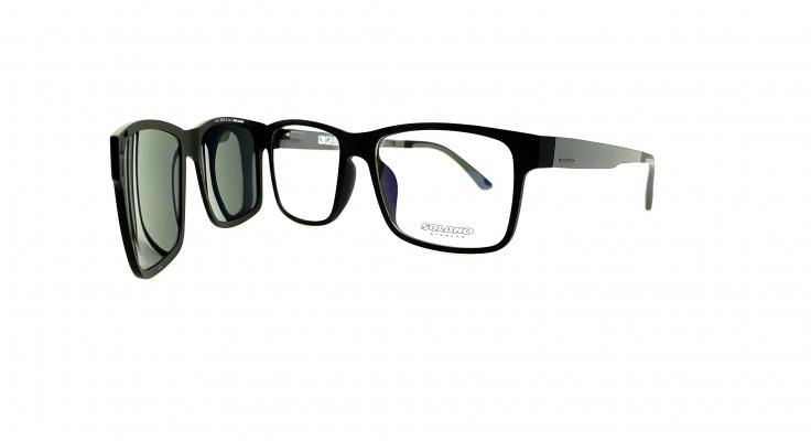 Rama ochelari clip-on Solano CL90002B