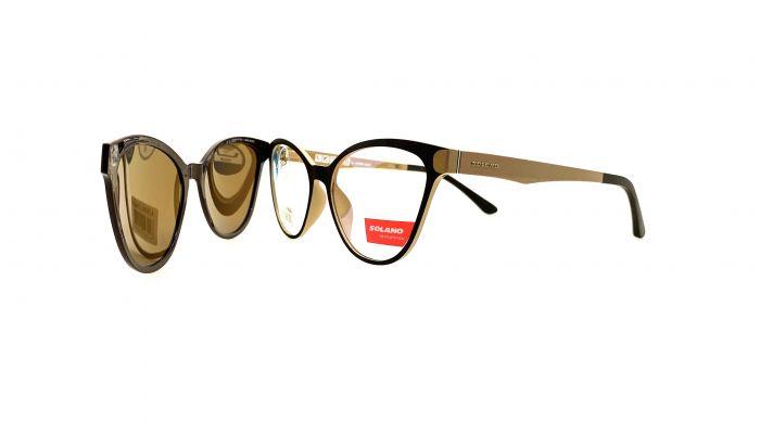 Rama ochelari clip-on Solano CL90082