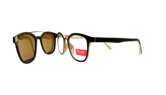 Rama ochelari clip-on Solano CL90095
