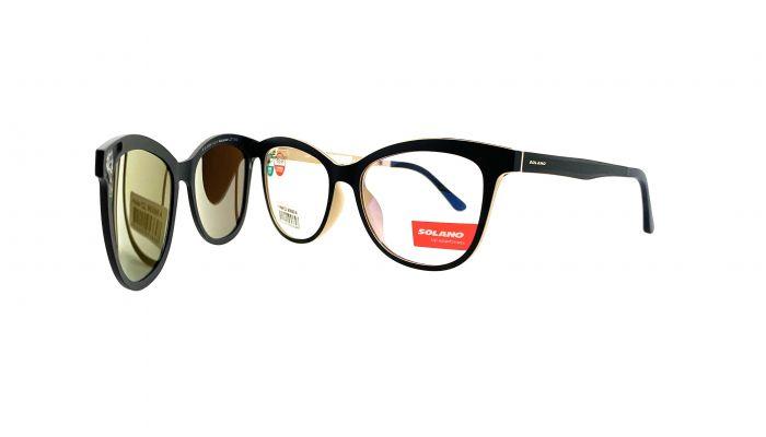 Rama ochelari clip-on Solano CL90099