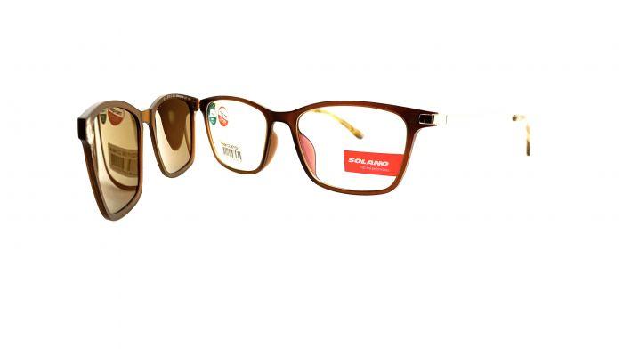 Rama ochelari clip-on Solano CL90102