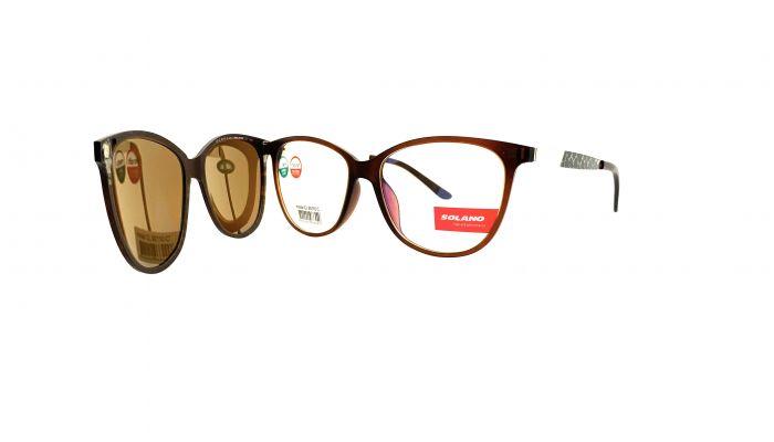 Rama ochelari clip-on Solano CL90110