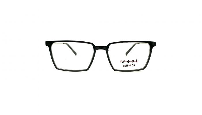 Rama ochelari clip-on West 99975