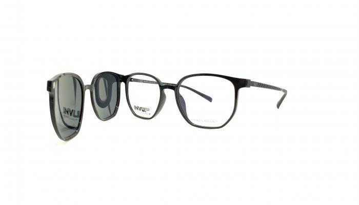 Rama ochelari clip-on INVU G4009A