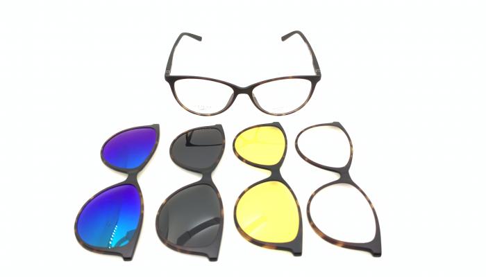 Rama ochelari clip-on THEMA - 99 John St. NYC U241 SET