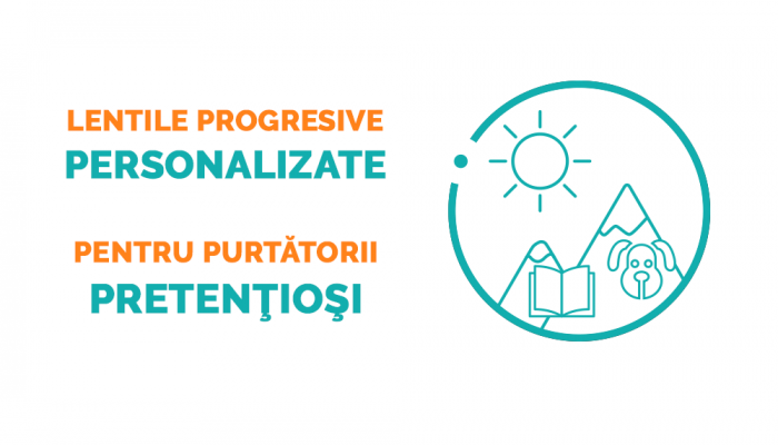 Lentile progresive Ital Lenti Twice Armonie BluBlock - primul grad de subtiere (1.6)