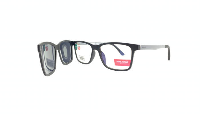 Rama ochelari clip-on Solano CL90044