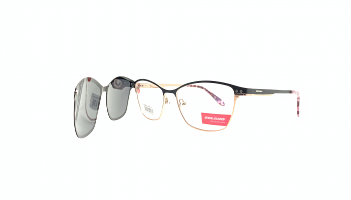 Rama ochelari clip-on Solano CL10141