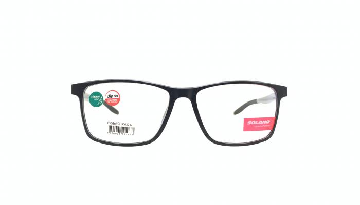 Rama ochelari clip-on Solano CL30022