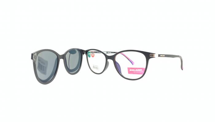 Rama ochelari clip-on Solano CL90132
