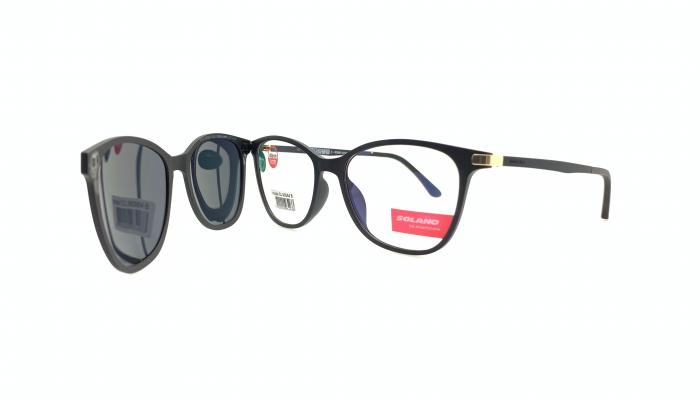 Rama ochelari clip-on Solano CL90064