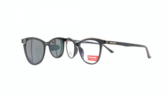 Rama ochelari clip-on Solano CL90125
