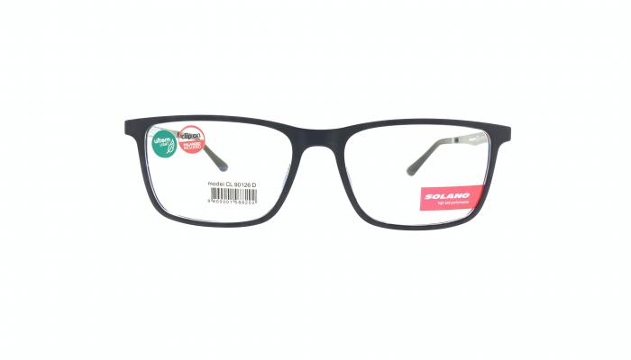 Rama ochelari clip-on Solano CL10126D