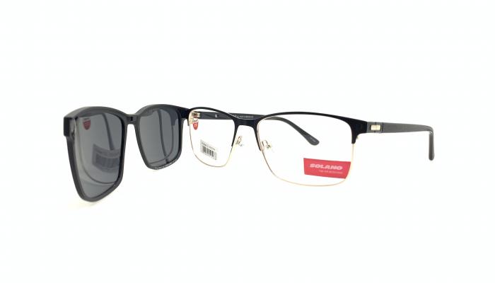 Rama ochelari clip-on Solano CL10137