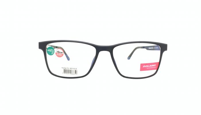 Rama ochelari clip-on Solano CL90115