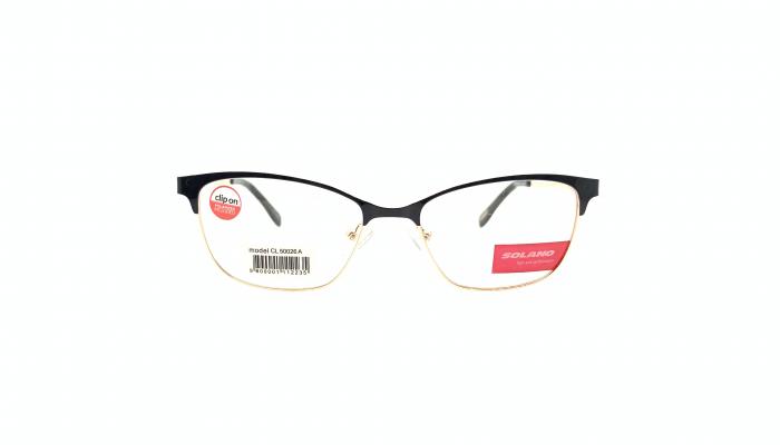 Rama ochelari clip-on Solano CL50026