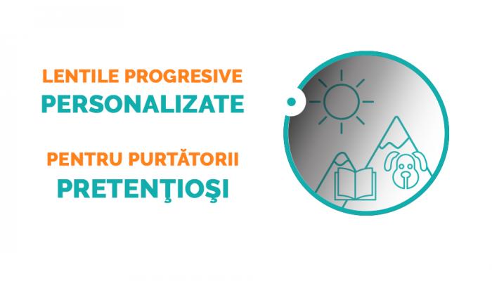 Lentile progresive Ital Lenti Twice Armonie Heliomate cu tratament Iron sau BluBlock - primul grad de subtiere (1.6)