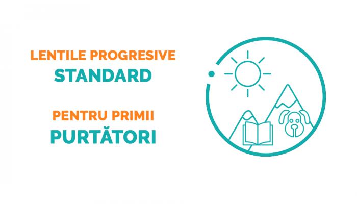 Lentile progresive Ital Lenti Sky Iron sau BluBlock - subtiere standard (1.5)