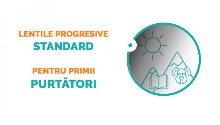 Lentile progresive Optiswiss be 4ty+ HD Transitions Optiplas O+ (Heliomate) - grosime standard 1.5