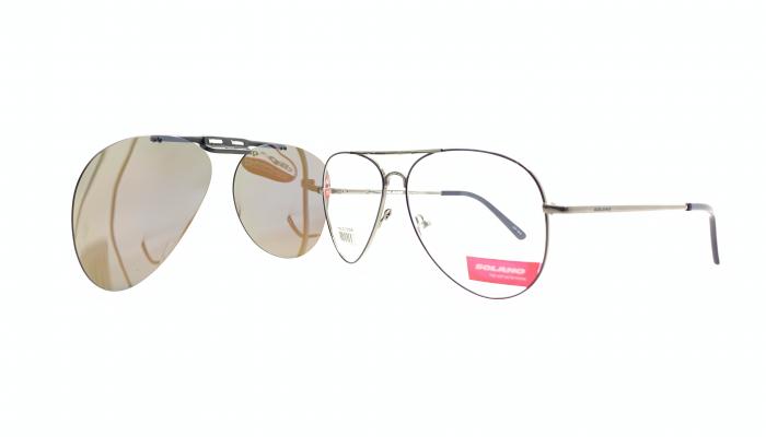 Rama ochelari clip-on Solano CL10105B