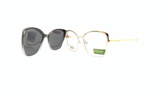 Rama ochelari clip-on Solano CL10148B
