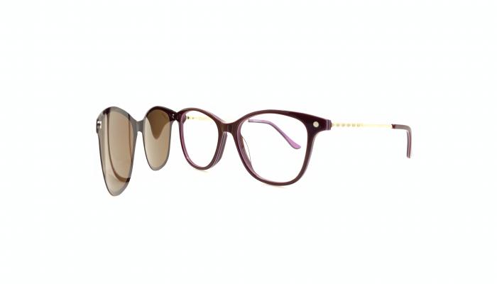 Rama ochelari clip-on Intenso/Mystique 030